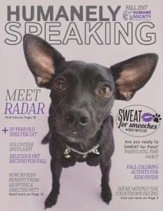 Humanely Speaking Cover - Fall 2017