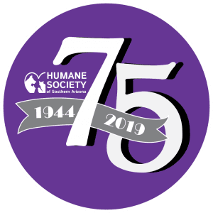 75th anniversary logo with circle