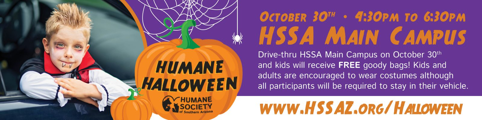 Humane Halloween- Email Banner
