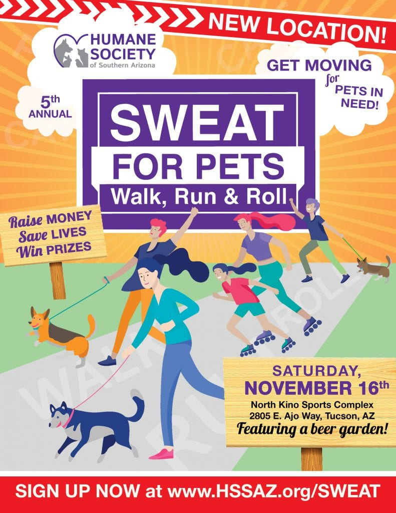 Sweat for Pets Flyer 2019
