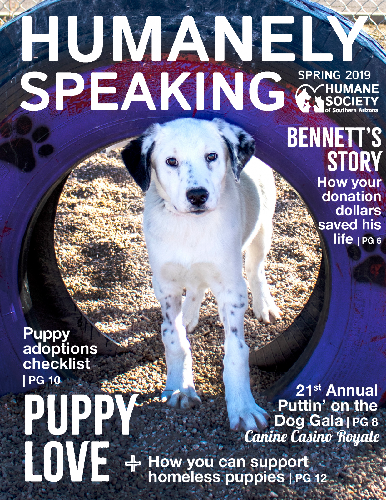 Humanely Speaking Spring 2019 cover