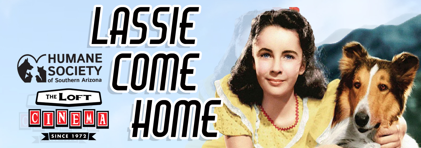 Lassie come home website graphic