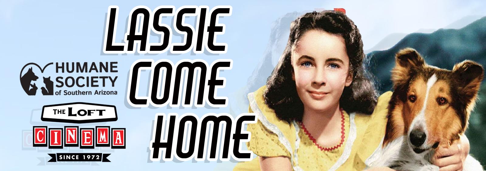 Lassie come home website graphic
