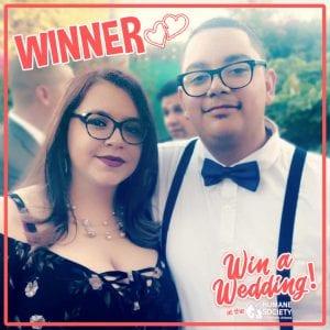 Win a Wedding WINNER