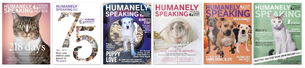Humanely Speaking Covers