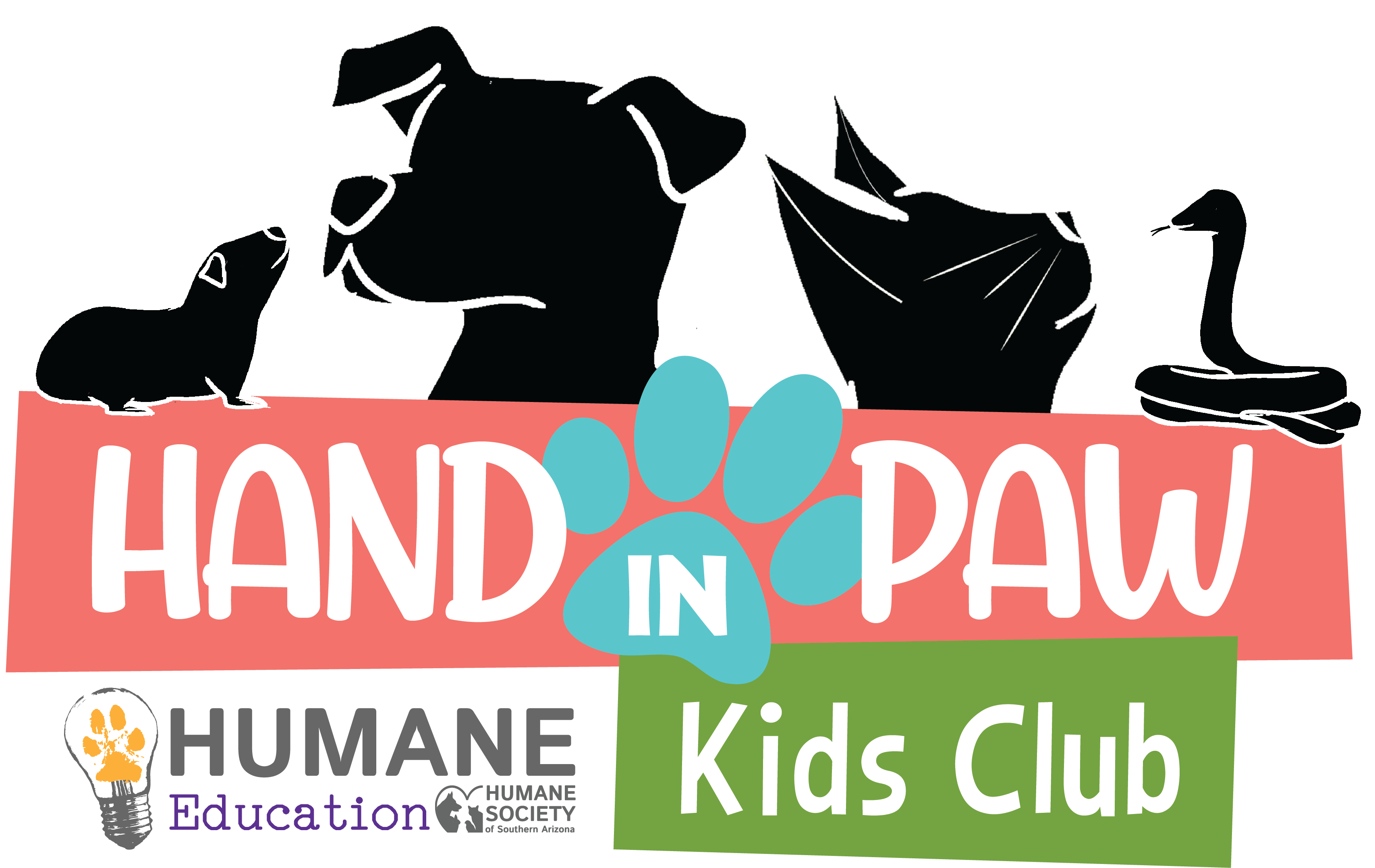 Hand In Paw Kids Club Humane Society Of Southern Arizona