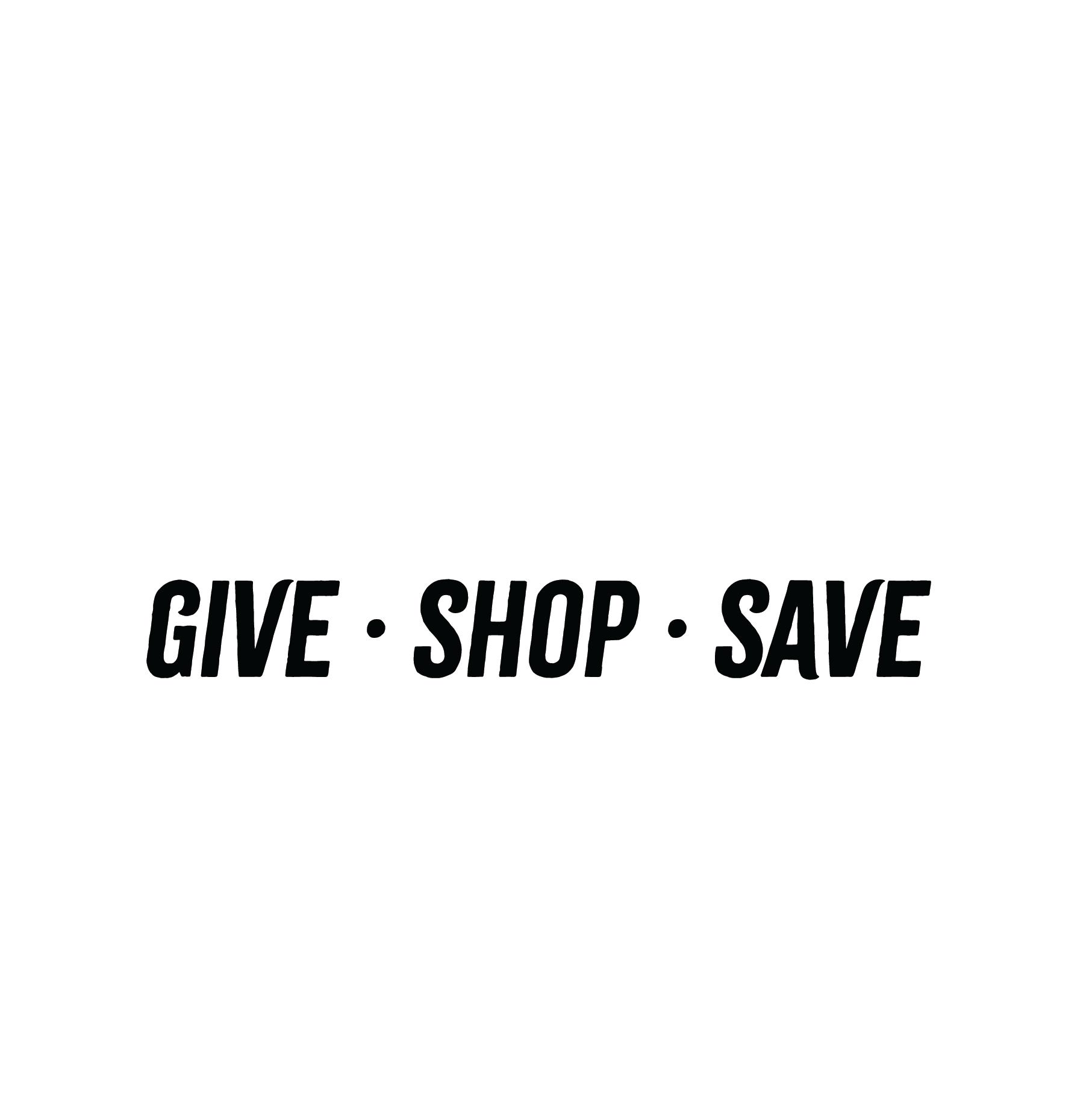 HSSA Thrift Store Logo- vertical white