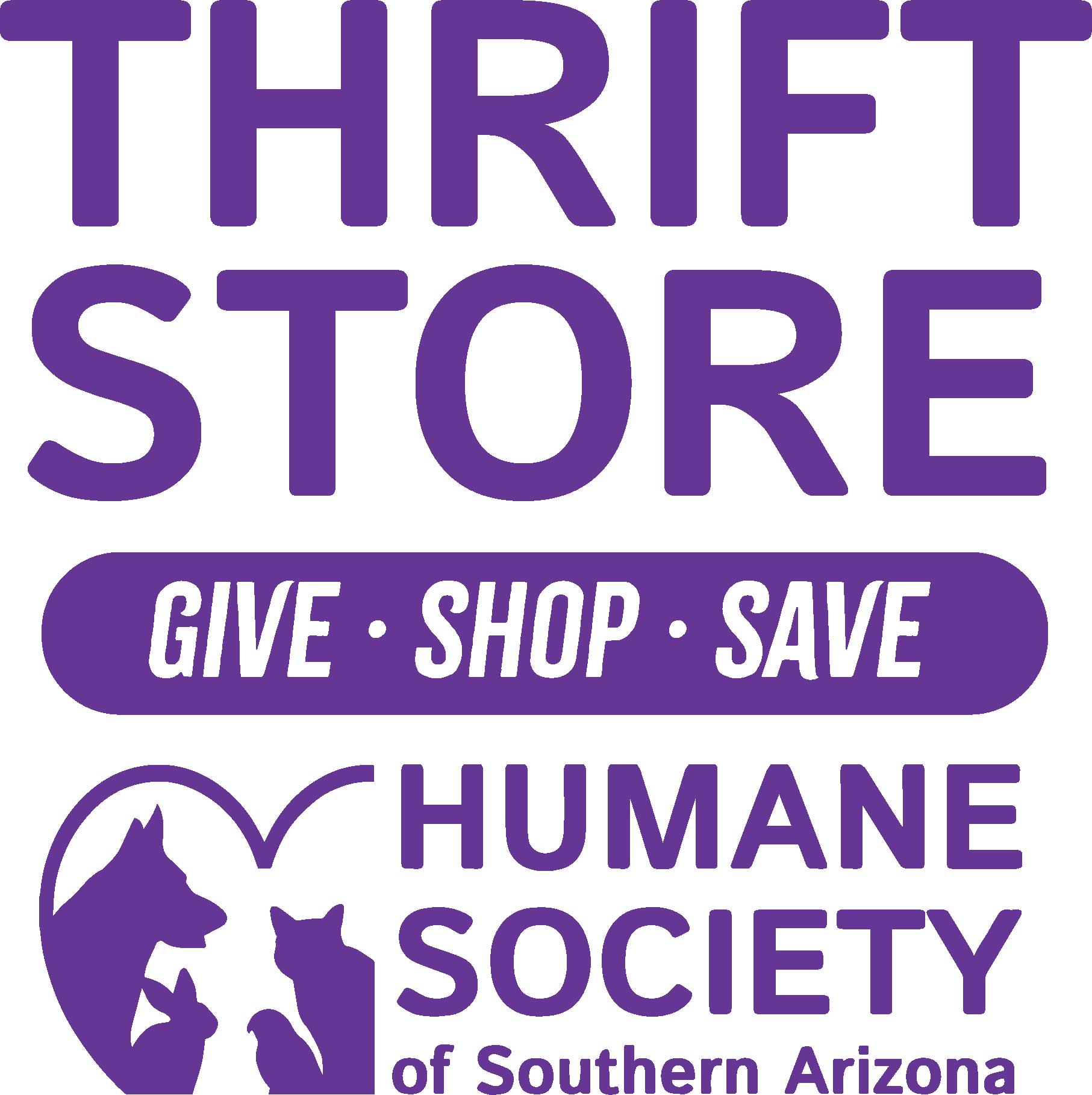HSSA Thrift Store Logo- vertical