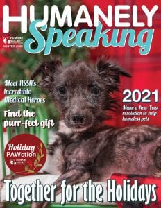 Humanely Speaking Winter 2020 Cover FINAL