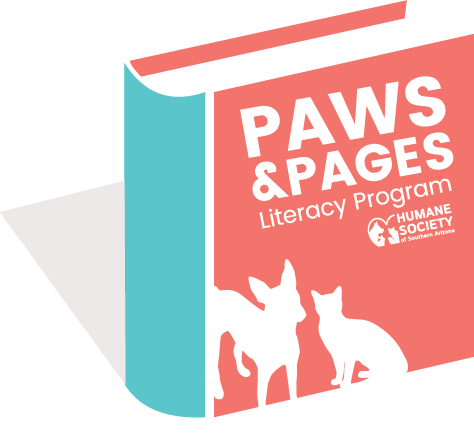 Paws and Pages logo final