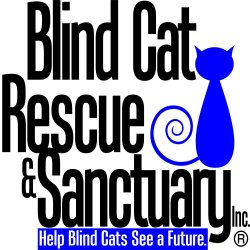 Blind Cat Rescue and Sanctuary Logo