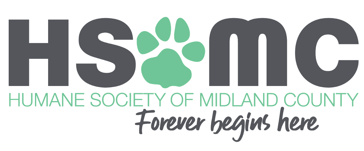 Humane Society of Midland County Logo