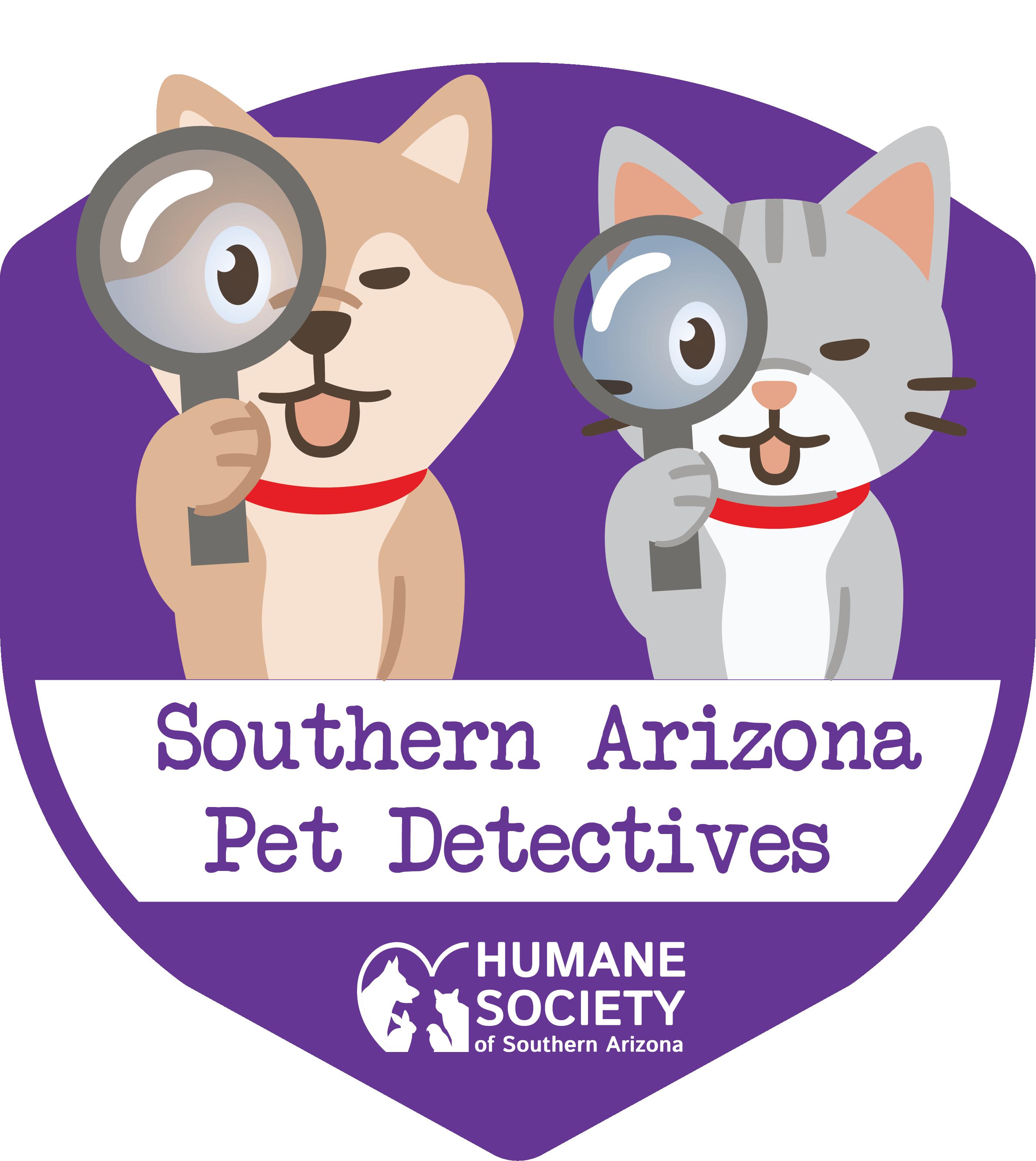 Southern Arizona Pet Detectives Logo- vertical