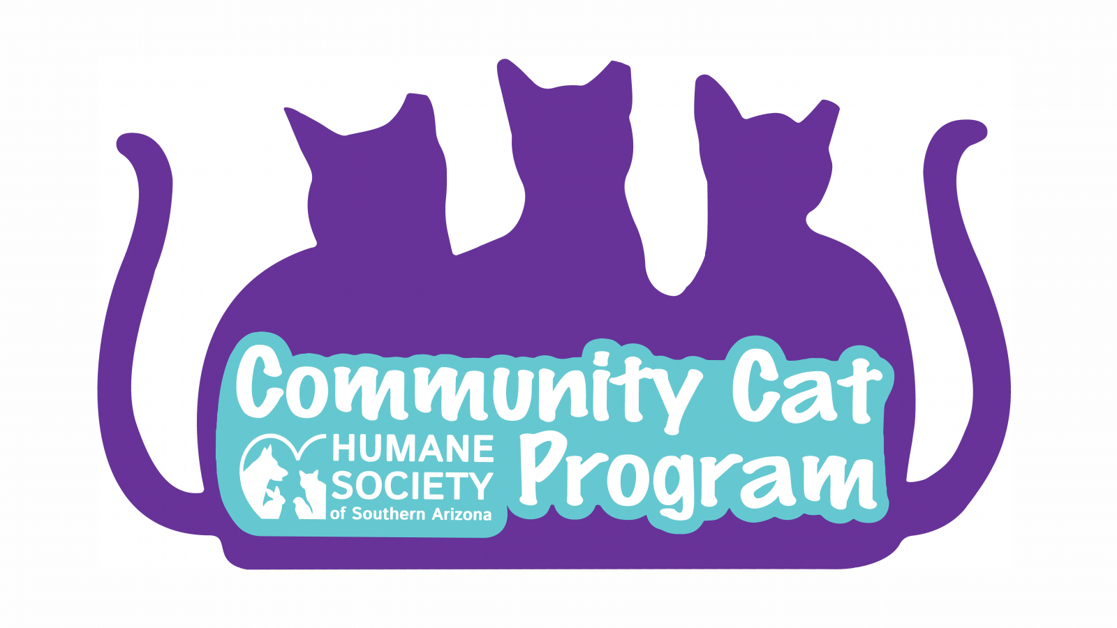 Community Cat Program Logo Full Logo 2-Color